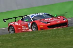 Galassi-Rizzutto (Team Malucelli,Ferrari 458 Italia-GT3 #58)