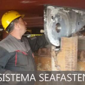 Montaggio del sistema seafastening