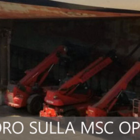 Prosegue il lavoro sulla Msc Opera