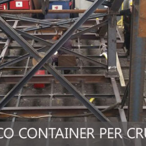 "Piattaforma imbarco container per Cruise ""OOSTERDAM"""