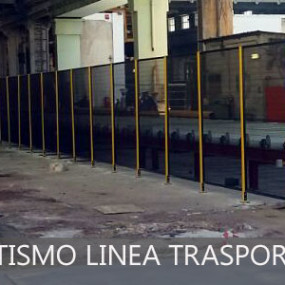 Revamping automatismo linea trasporto lamiere