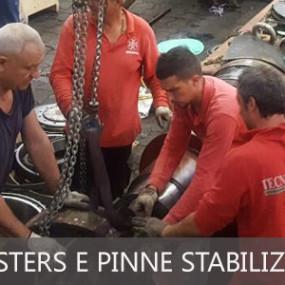 """Manutenzione thrusters e pinne stabilizzatrici sulla """"SILVER WIND"""""""