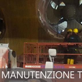 Costa Favolosa, manutenzione thruster