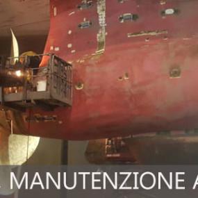 Costa Luminosa, manutenzione podded propulsor