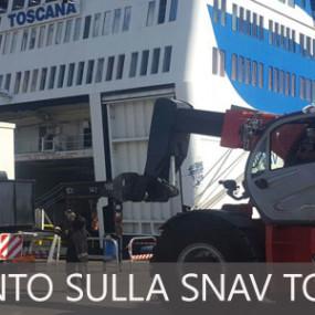 Installazione dei gruppi elettrogeni sulla Snav Toscana
