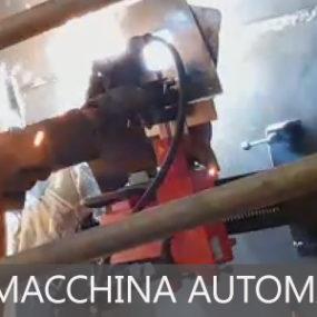 Saldatura con macchina automatica